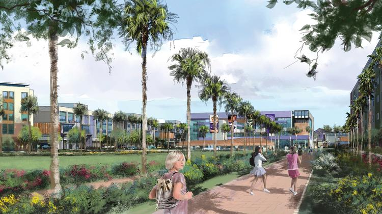 Grand Canyon University is putting plans for a Mesa campus on hold.