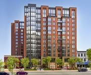 Central  Name: Meridian at Mount Vernon Triangle II Location: 450 K St. NW Size: 13 stories, 233 units Developer: Lettler Inc. Location: 415 L St. NW Size: 14 stories, 393 units Developer: Steuart Investment Co.