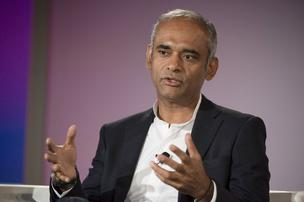 Chet Kanojia, founder and chief executive officer of Aereo Inc., speaks during the Bloomberg Next Big Thing Summit in Half Moon Bay, California, U.S.