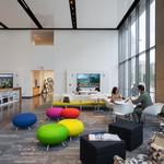 Coolest office spaces: HOK's move comes with bright, vibrant design