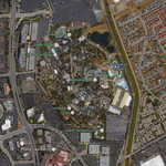 Is Irvine Company looking to acquire Santa Clara's Great America theme park?