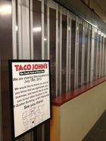 Taco <strong>Bell</strong>, Taco <strong>John</strong>'s close in downtown Minneapolis skyway