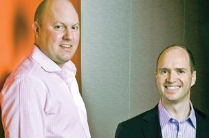 Marc Andreessen (left) and Ben Horowitz.