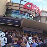 The Force Awakens, the fans rejoice at Disney's Star Wars opening night event (Video)