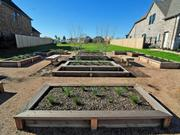 Each home will offer an optional backyard garden for homeowners to cultivate.