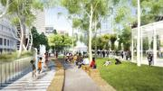 Hines and Boston Properties, developers of the planned Rooftop Park atop the Transbay Terminal, refuse to pay for the 4.5-acre park's maintenance, the city says.