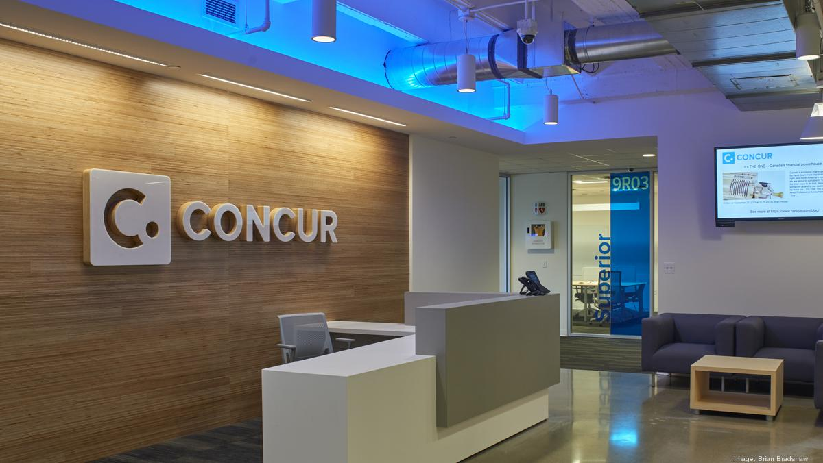 Cool Offices: Concur's expanding one floor at a time (Photos