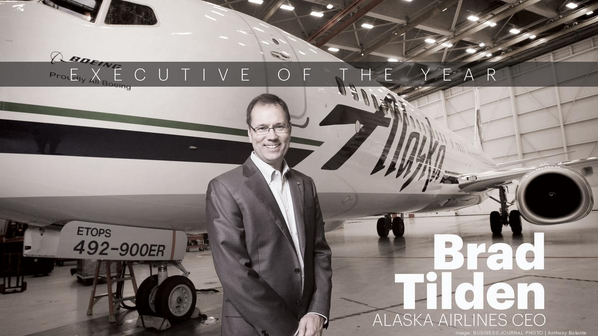 executive of the year a few things about alaska airlines ceo brad tilden that may surprise you puget sound business journal