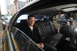 Uber's run by co-founder and CEO Travis Kalanick.