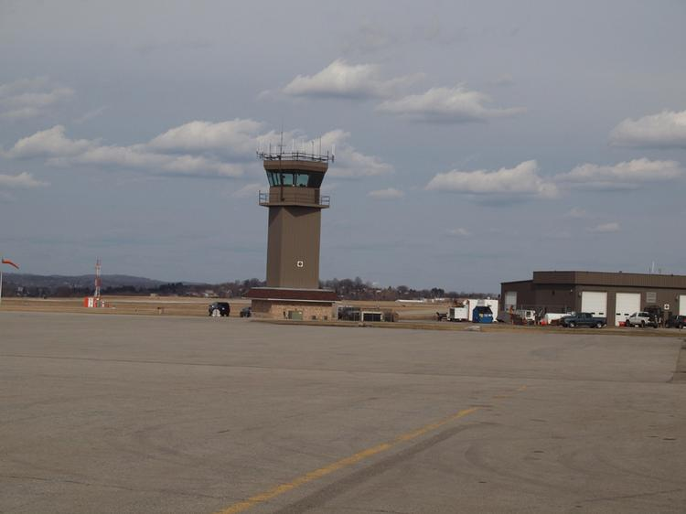 Arnold Palmer Regional Airport's control tower.