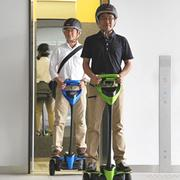 Toyota is testing out a new personal mobility device called the Winglet.