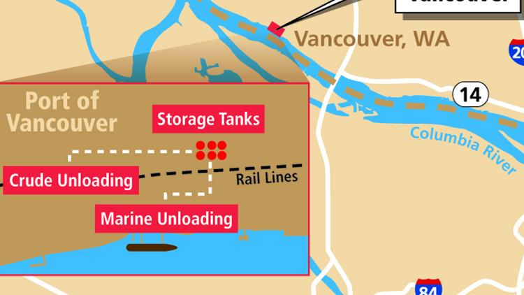 The planned investment on Tesoro and Savage's proposed oil terminal could now represent a price tag of $190 million investment at the Port of Vancouver.