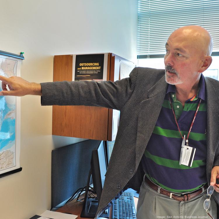 Thomas Tunstall, director of research at the University of Texas at San Antonio Institute for Economic Development, has led extensive research projects on the economic impact of South Texas' Eagle Ford Shale.