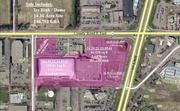 There's land in the parking lot that could be developed into three retail buildings.