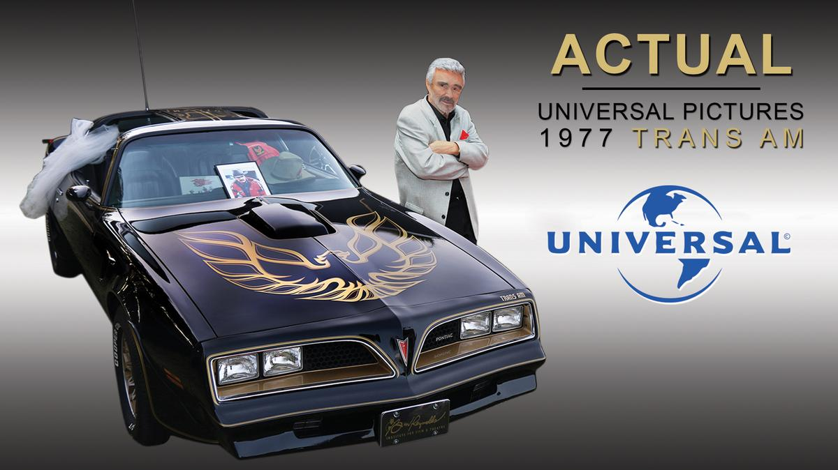 Barrett jackson to auction 39 smokey and the bandit 39 car signed by burt reynolds phoenix
