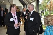 Marc Gordon of Miami Children's Hospital Foundation and Wayne Fritzsche of Collegiate Business Consulting.