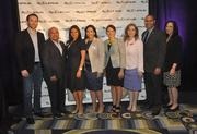 Members from Florida International University pose for a picture at the Business Journal's 40 under 40 event.