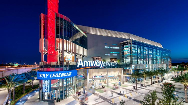 Amway Center, home to the Orlando Magic