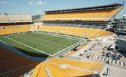 Heinz Field on Pittsburgh's North Shore, home to the Steelers, has been open for just 12 years, but already has fallen to 31st in age among the 110 major sports venues in North America. It opened Aug. 18, 2001.