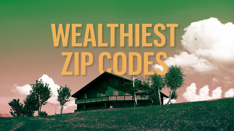 25 wealthiest ZIP codes in metro Denver (interactive map ...