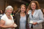 Martha Elliott, director of business development, CAM Construction; Isabelle Alfriend, student, Calvert School; Heidi Minken, senior director, Mercy Health Foundation.