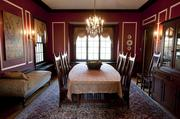 The Carricos' dining room is shown here. According to the 2012 list of most expensive residential real estate transactions, published March 16, 2012, 19 existing homes sold for $1 million or more. The 25 most expensive sales of existing homes added up to $35.5 million.