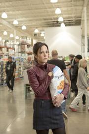 "Actor Mary Louise Parker and G.H. Cretors popcorn figure prominently in the opening scene of ""Red 2"" shot at a Costco store in Montreal, Canada."