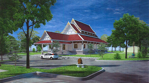 Thai Buddhist temple and meditation center proposed for