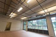 A look inside MICA's new dorm at 130 McMechen St. Pictured here, an open space on the first floor.