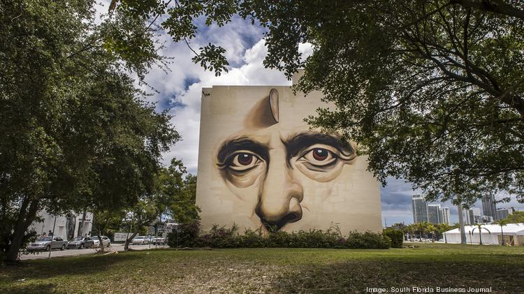 The building at 250 N.W. 23rd St., in Miami's Wynwood Art District, is both a commercial and residential space.
