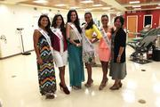 Miss Hawaii Crystal Lee and Miss Hawaii contestants support the Blood Bank of Hawaii by donating blood and asking friends and family to participate at the Young Street Donor Center. From left: Miss Hawaii Crystal Lee, Miss Latina Hawaii Steisha Sheather, Miss Oahu Brittni Woodward, Miss Hawaii's Teen Hayley Cheyney Kane, Miss Waikiki Courtney Viernes and Kim-Anh Nguyen, president and CEO of Blood Bank of Hawaii.