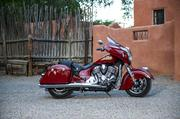 The 2014 Indian Chieftain hard bagger (starting at $22,999)