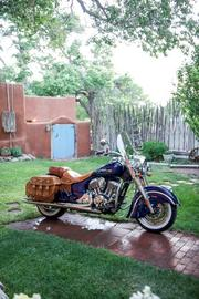 The all-new 2014 Indian Chief Vintage soft bagger (starting MSRP: $20,999)