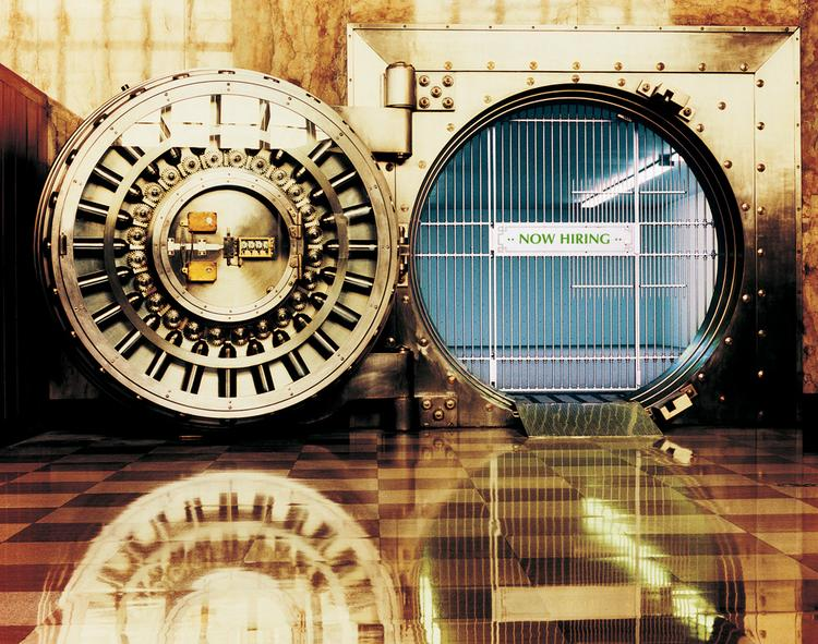 Banks need to open the vaults for small businesses, the Cleveland Fed says.