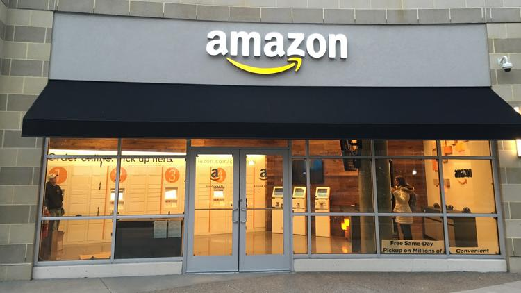 Amazon cincinnati store sets opening date cincinnati for Furniture pick up seattle