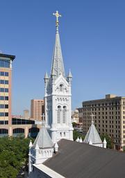 Special Project Winner: Annunciation Catholic Church facade and steeple restoration