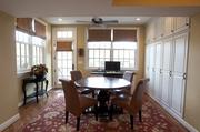 Another view of the eating area off the kitchen.