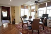 The home has an eating area off the kitchen.
