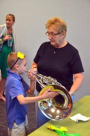 The North Carolina Symphony Music Discovery is designed for preschools children.