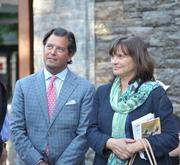 Friends George Bolton and Barbara Banke, who have teamed up to buy million dollar horses in the past, were on hand. She's the chairwoman of Kendall-Jackson wines and he's a San Francisco investment banker