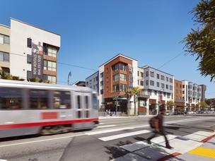 Avalon Ocean Avenue's 173 apartments over a Whole Foods has brought a jazzy mixed-use project  to a transit-rich area of San Francisco's Balboa Park.