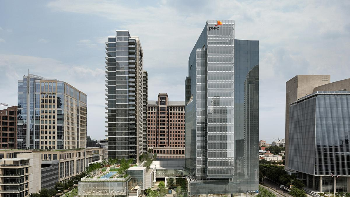 Pwc To Move Dallas Office To New Trammell Crow Co Tower