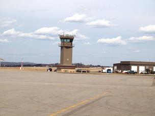 The control tower at Arnold Palmer Regional Airport in Latrobe is tentatively scheduled to close on April 7.