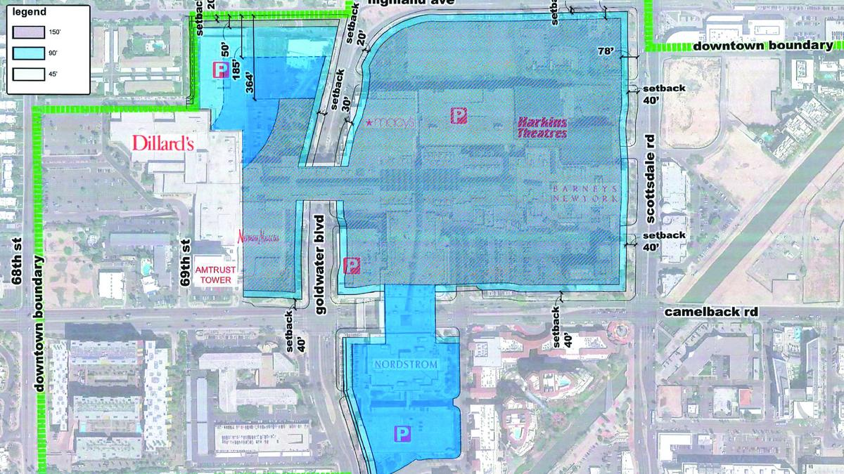 Scottsdale Sales Tax >> Macerich goes high-rise at Scottsdale Fashion Square - Phoenix Business Journal