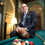 Regional Fairmont hotels leader Thomas Klein checks out for Texas