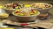 The menu at Which Wich also includes black bean, hummus and tuna salad bowls.