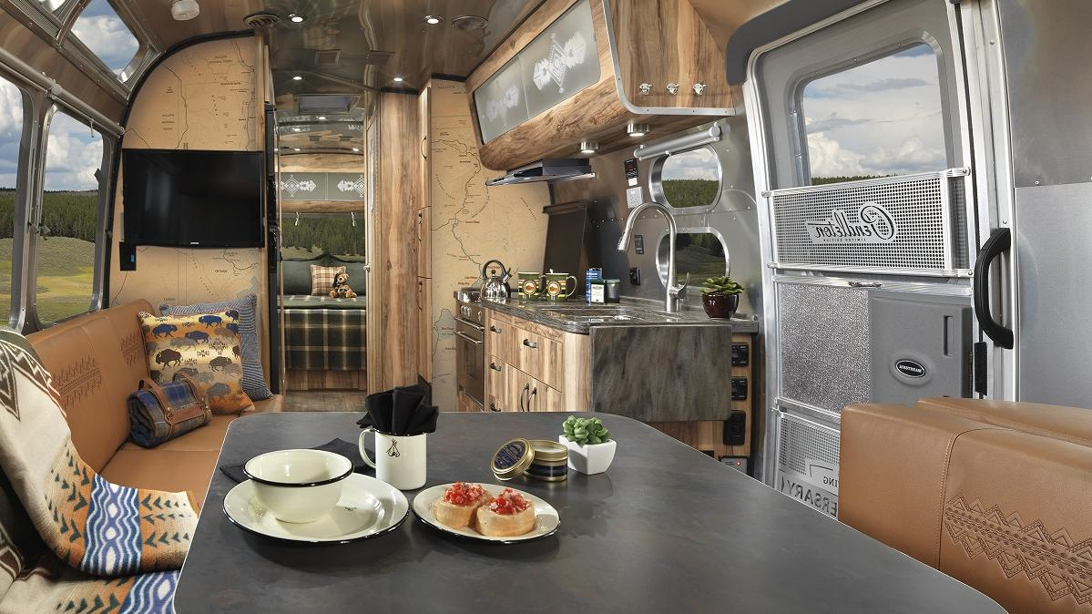 Rv Dealers In Ohio >> Airstream and Pendleton Woolen Mills unveil national parks ...
