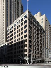 The Great Jones Building, at 708 Main, totals 78,843 square feet and was built in 1908.