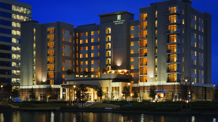 A New Emby Suites Hotel Opened At Hughes Landing In The Woodlands On Jan 7