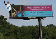 "Social Madness update: The final local competitor, Summit Eye Associates of Gastonia, is still hanging on, just two rounds away from the national title but trailing its current competitor. Click here to vote for Summit Eye or see the latest scores. The company's ""Flat Iris"" character has been added to a photo of a billboard along I-85 in Gaston County that urges motorists to support Girls on the Run and Summit Eye Associates in Social Madness."